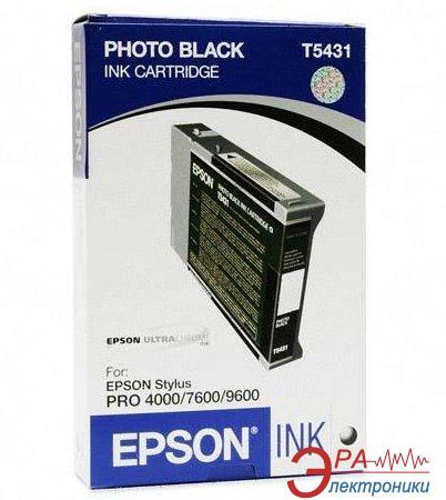 Картридж Epson (C13T543100) (Stylus Pro 4000/7600/9600) Black