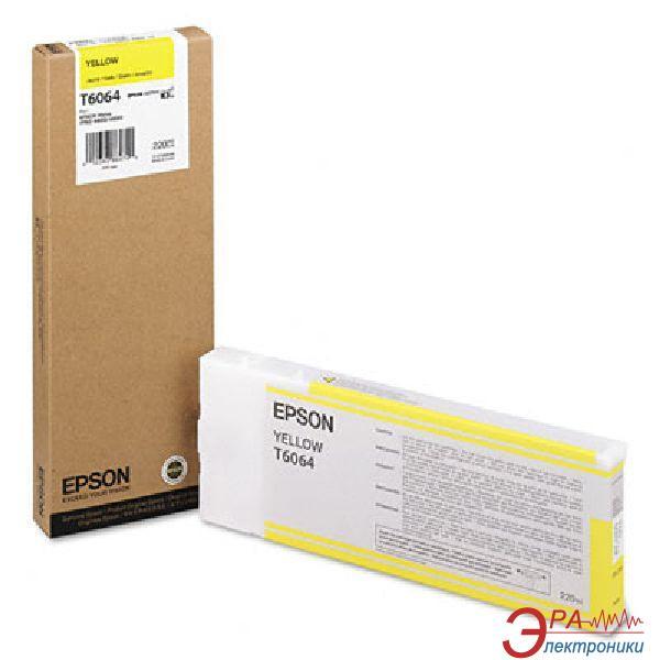 Картридж Epson (C13T606400) (StPro 4800/4880) Yellow
