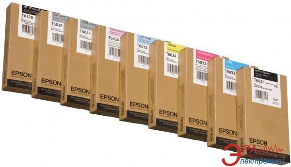 Картридж Epson (C13T603400) (StPro 7800/7880/9800/9880) Yellow