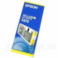 Картридж Epson (T475011) Epson StPro 9500 Yellow