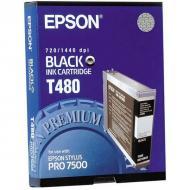 Картридж Epson (C13T480011) (Stylus Pro 7500) Black