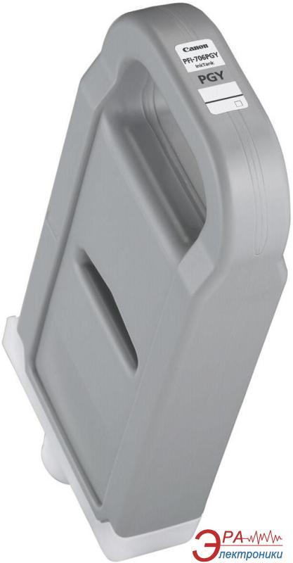 Картридж Canon PFI-706PGY (6691B001) (iPF9400, iPF8400) Grey
