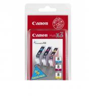 Картридж Canon CLI-8 C/M/Y (0620B026) (iP4200/ iP5200/ iP3300/ IP3500/ iP4300/ iP5300/ IP6600D/ MP500/ MP800/ MP830/ MP530/MP510/ MP600/ MP810/ MP520/ MP470/ MP970/ MX850/ MX700/ iX5000/ iX4000/ Pro9000/ Pro9000 Mark II) Color (C, M, Y)