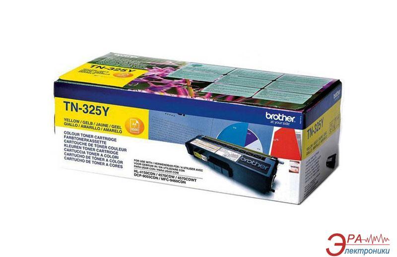 Картридж Brother TN325Y (max) (TN325Y) (HL-4150CDN, MFC-9465CDN) Yellow