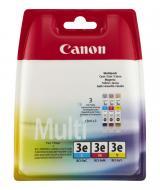 Картридж Canon BCI-3e (4480A265) (BJC-3000/ BJC-6000/ BJC-6100/ BJC-6200/ 6200S/ BJC-6500 PIXMA iP3000/ iP4000/ iP4000R/ iP5000/ MP700/ MP730/ MP750/ MP760/ MP780/ MPC400/ MPC600F) Bundle (C, M, Y)