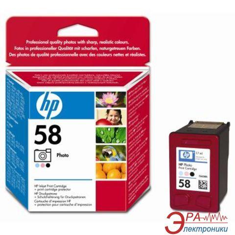 Картридж HP (C6658AE) DeskJet 3650/5150/ 5550/5652/9650/9670/9680, DeskJet 450ci/cbi, DeskJet D2460, Deskjet F2180/F2280/F4180, Photosmart 7150/7260/7350/ 7550/7660/7760/7960, PSC 1350/2110/ 2175/2210, OfficeJet 5510/ 5610/6110. photo (light cyan,light ma