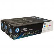 Комплект расходных материалов HP (CF341A) (CP1025/CP1025nw/M175a/M175nw) Color (C, M, Y)