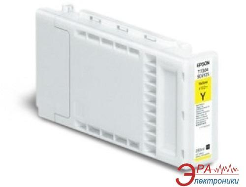 Картридж Epson SC-F2000 Yellow 250ml (C13T730400) Epson SureColor SC-F2000 Yellow