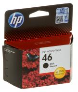 Картридж HP No.46 (CZ637AE) (DJ Ink Advantage 2020hc/2520hc) Black
