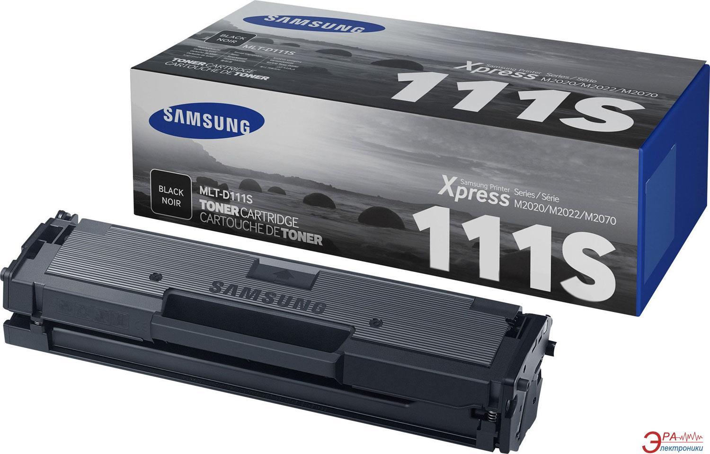 Картридж Samsung (MLT-D111S) (SL-M2020/ 2020W/ 2070/ 2070W/ 2070FW) Black