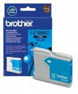 Картридж Brother (LC1000C) (DCP130C/330/350С, MFC240C/465/885/5460CN) Cyan