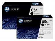 Картридж HP № 05A DUAL PACK (CE505D) (LaserJet P2035/ P2055/ P2055d/ P2055dn) Black