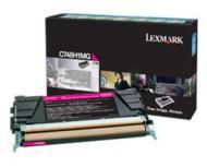 Картридж Lexmark 10k (C748H3MG) (C748) Magenta