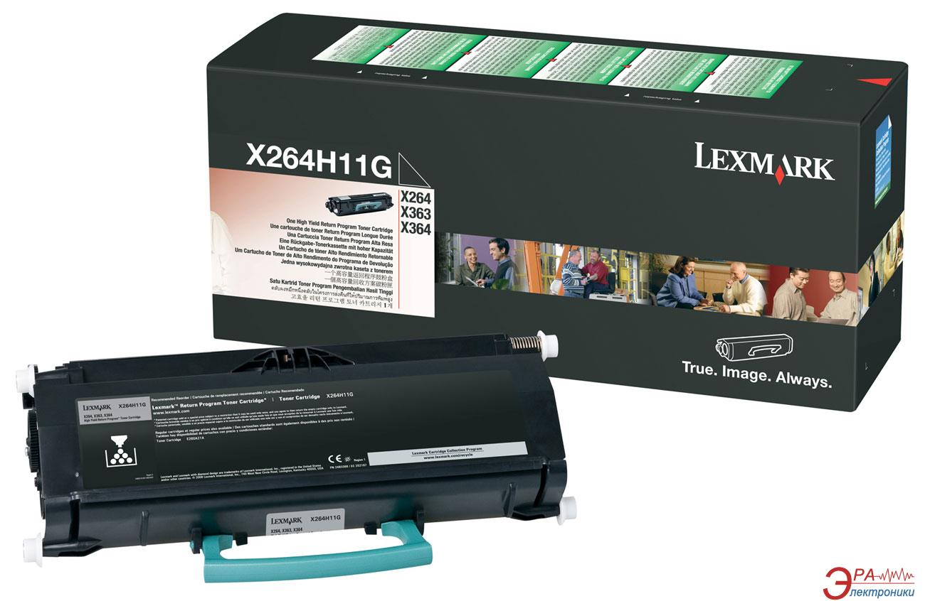 Картридж Lexmark High Yield RP 9k (X264H31G) (X264/ 363/ 364) Black