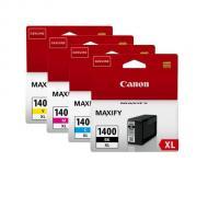 Картридж Canon PGI-1400XL MULTIPACK (9185B004) (MAXIFY MB2040, MB2340) Bundle (C, M, Y, Bk)