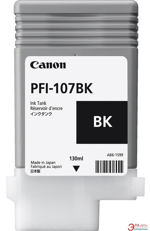 Картридж Canon PFI-107BK 130 ml (6705B001) (iPF680, iPF685, iPF780, iPF785) Black