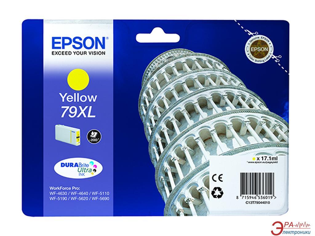 Картридж Epson 79XL (C13T79044010) (WF-5110/WF-5620) Yellow