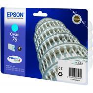 Картридж Epson 79 (C13T79124010) (WF-5110/WF-5620) Blue