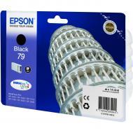Картридж Epson 79 (C13T79114010) (WF-5110/WF-5620) Black