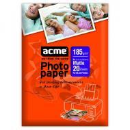 Бумага для фотопринтера ACME Matte Photo Paper (856031)