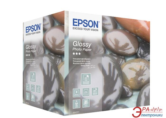 Бумага для фотопринтера Epson Glossy Photo (C13S042201)