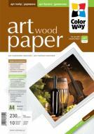 Бумага для фотопринтера ColorWay ART PGA230010WA4