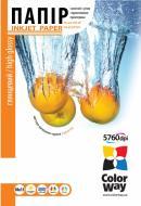 Бумага для фотопринтера ColorWay ПГ150-100 (PG1501004R)