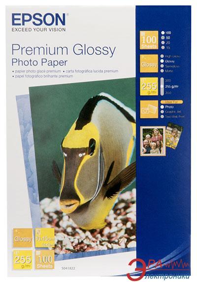 Бумага для фотопринтера Epson Premium Glossy (C13S041822)