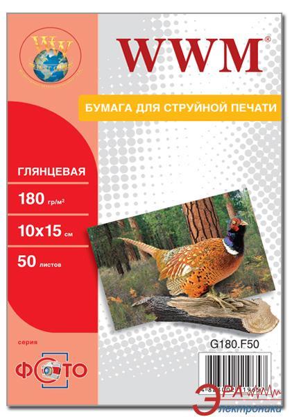 Бумага для фотопринтера WWM (G180.F500)