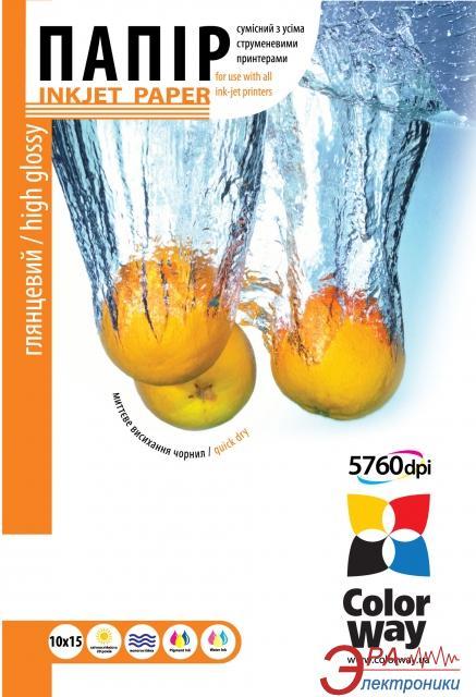 Бумага для фотопринтера ColorWay ПГ240-100 (PG2401004R)