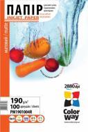 Бумага для фотопринтера ColorWay ПM190-100 (PM1901004R)