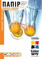 Бумага для фотопринтера ColorWay ПГ130-20 (PG130020A4)