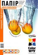 Бумага для фотопринтера ColorWay ПГ210-500 (PG2105004R)