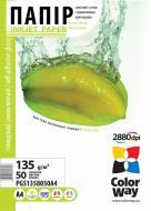 Бумага для фотопринтера ColorWay ПCГ135-50 (PGS1358050A4)