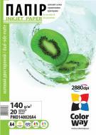 Бумага для фотопринтера ColorWay ПMД140-20 (PMD140020A4)