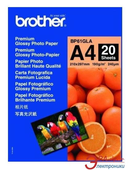 Бумага для фотопринтера Brother Innobella Premium Glossy Photo (BP61GLA)