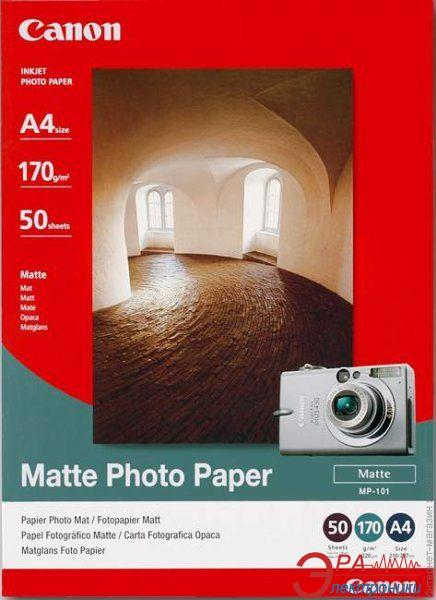 Бумага для фотопринтера Canon Photo Paper Matte MP-101 (7981A005)