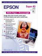 Бумага для фотопринтера Epson Matte Paper-Heavyweight (C13S041261)
