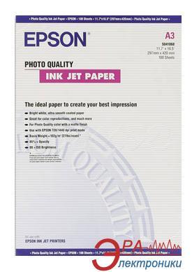 Бумага для фотопринтера Epson Photo Quality Ink Jet Paper (C13S041068)