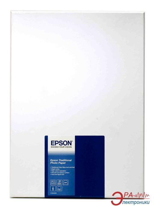 Бумага для фотопринтера Epson Traditional Photo (C13S045050)