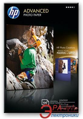 Бумага для фотопринтера HP Advanced Glossy Photo (Q8692A)