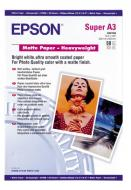 Бумага для фотопринтера Epson Matte Paper-Heavyweight (C13S041264)