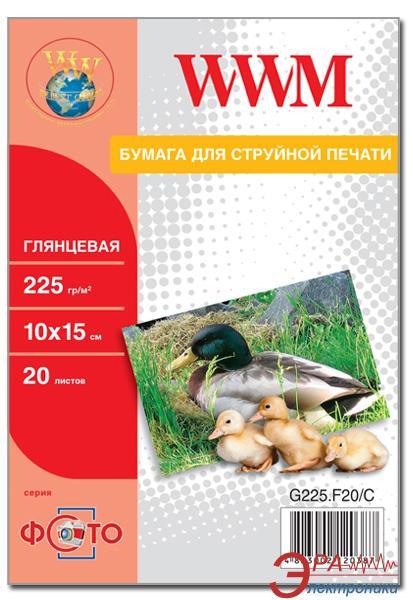 Бумага для фотопринтера WWM (G225.F20)