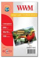 Бумага для фотопринтера WWM (G260N.F100)