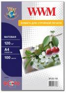 ������ ��� ������������ WWM (M120.100)