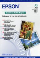 Бумага для фотопринтера Epson Archival Matte Paper (C13S041344)