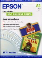 Бумага для фотопринтера Epson Photo Quality Self Adhesive Sheet (C13S041106)
