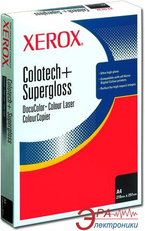 Бумага для фотопринтера Xerox COLOTECH + SUPERGLOSS (160) A4 250л (003R97680)