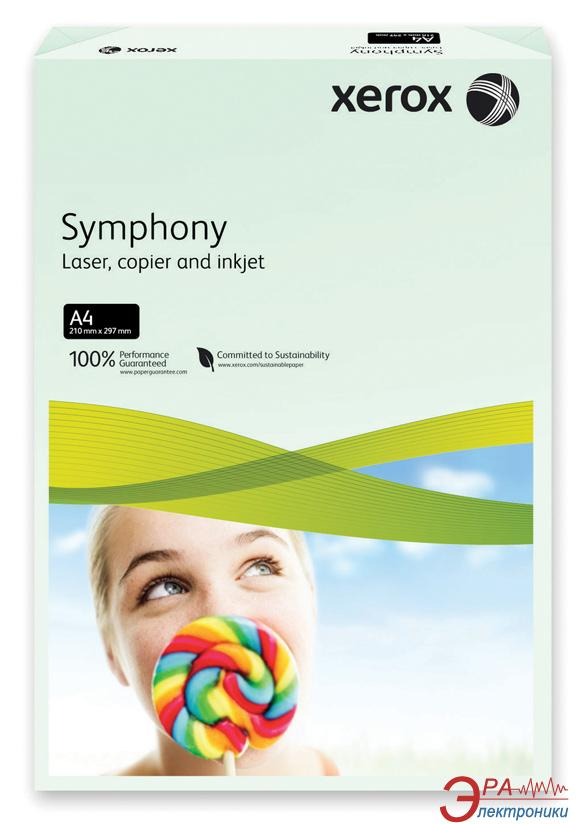 Бумага для фотопринтера Xerox SYMPHONY Pastel Green (160) A4 250л (003R93226)