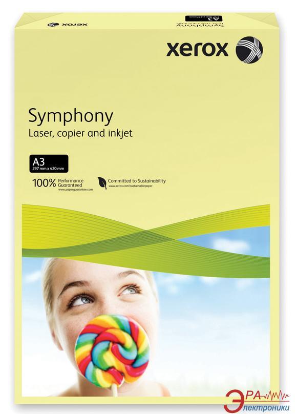 Бумага для фотопринтера Xerox SYMPHONY Pastel Yellow (80) A3 500л (003R91957)